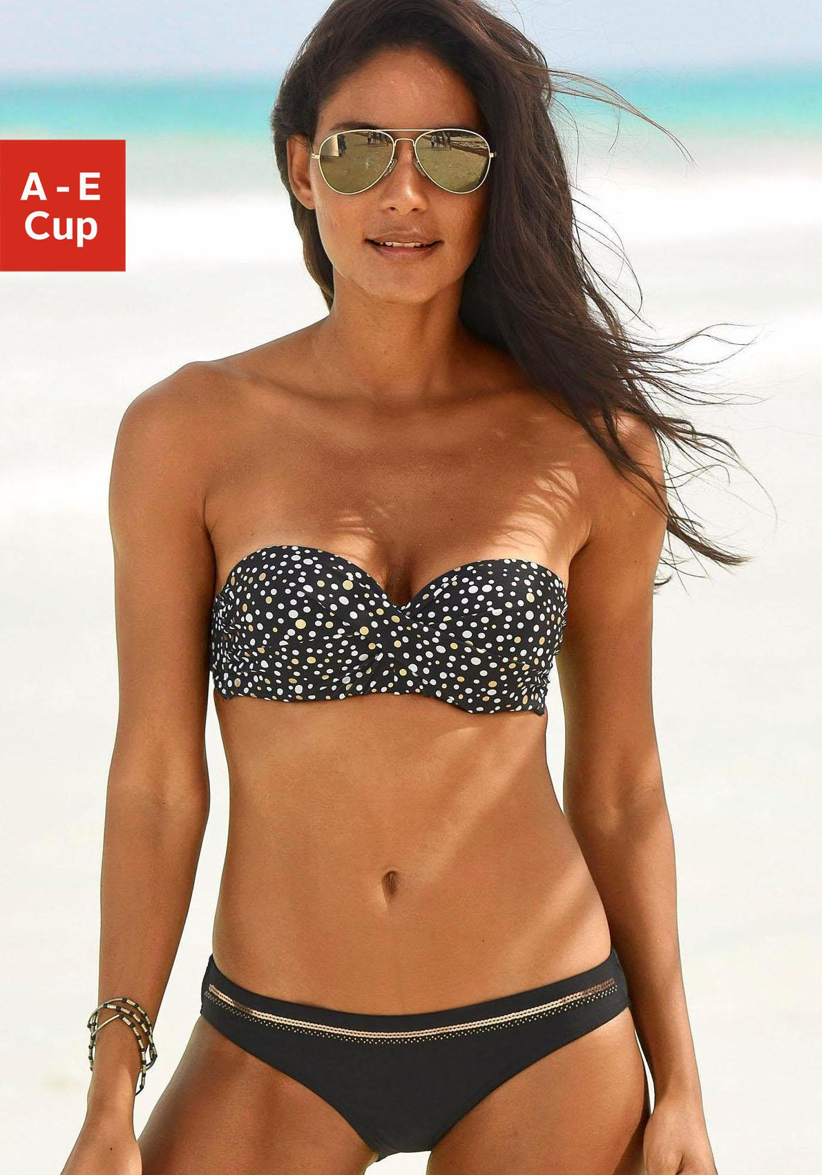 LASCANA Bandeau-Bikini-Top »Ella«