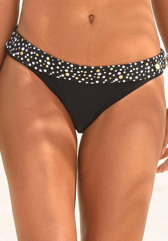 LASCANA Bikini-Hose »Ella« mit Umschlagbund