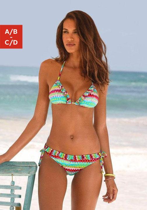 Homeboy Triangel-Bikini mit Rüschen