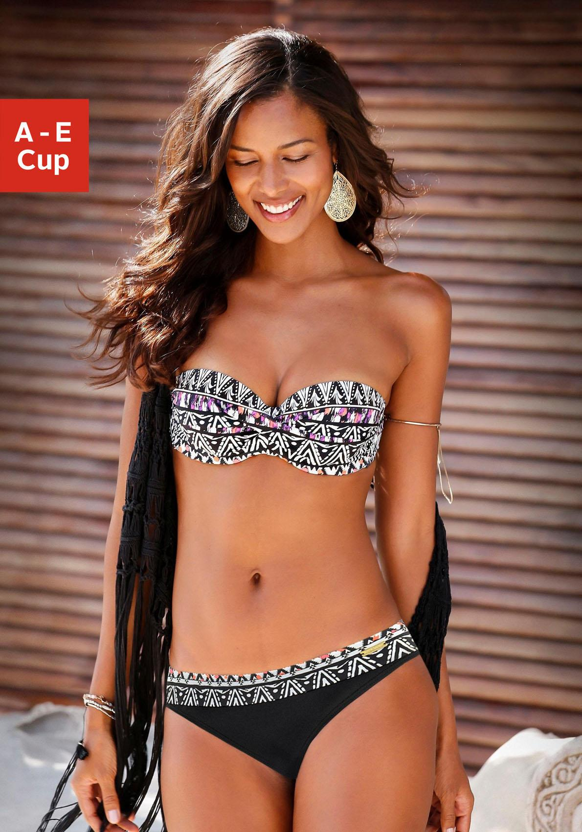 LASCANA Bandeau-Bikini-Top »Belize«