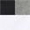 je 2x weiß + schwarz +  grau meliert