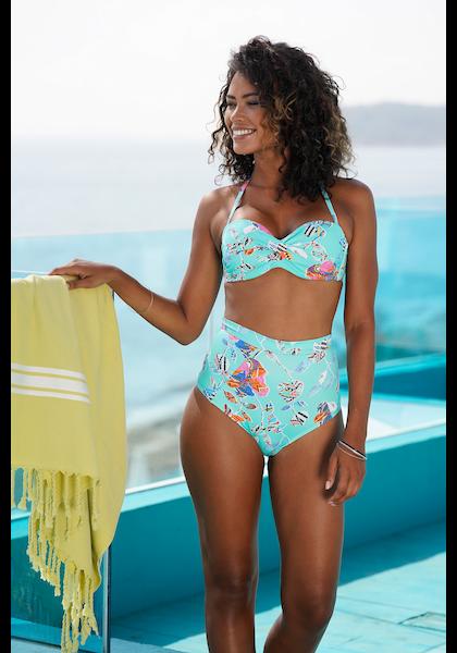 Sunseeker Highwaist-Bikini-Hose »Jam«