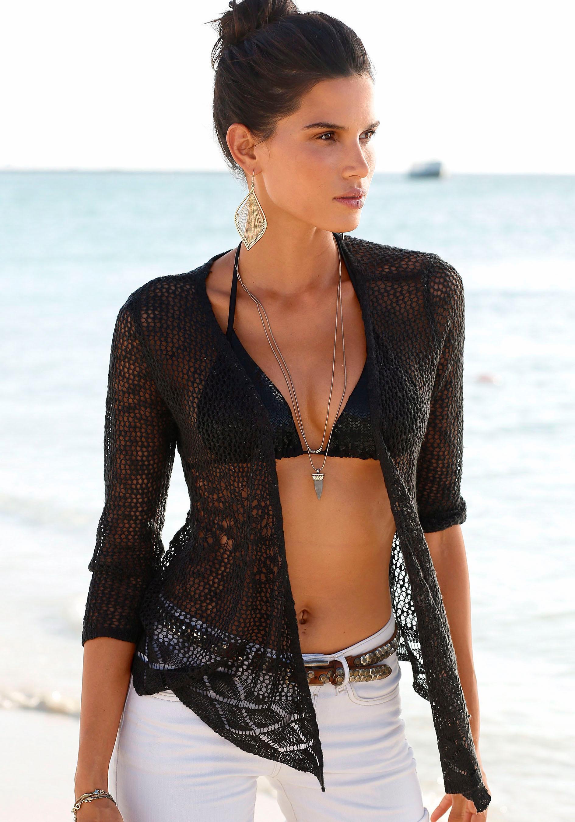 s.Oliver Beachwear Strickjacke