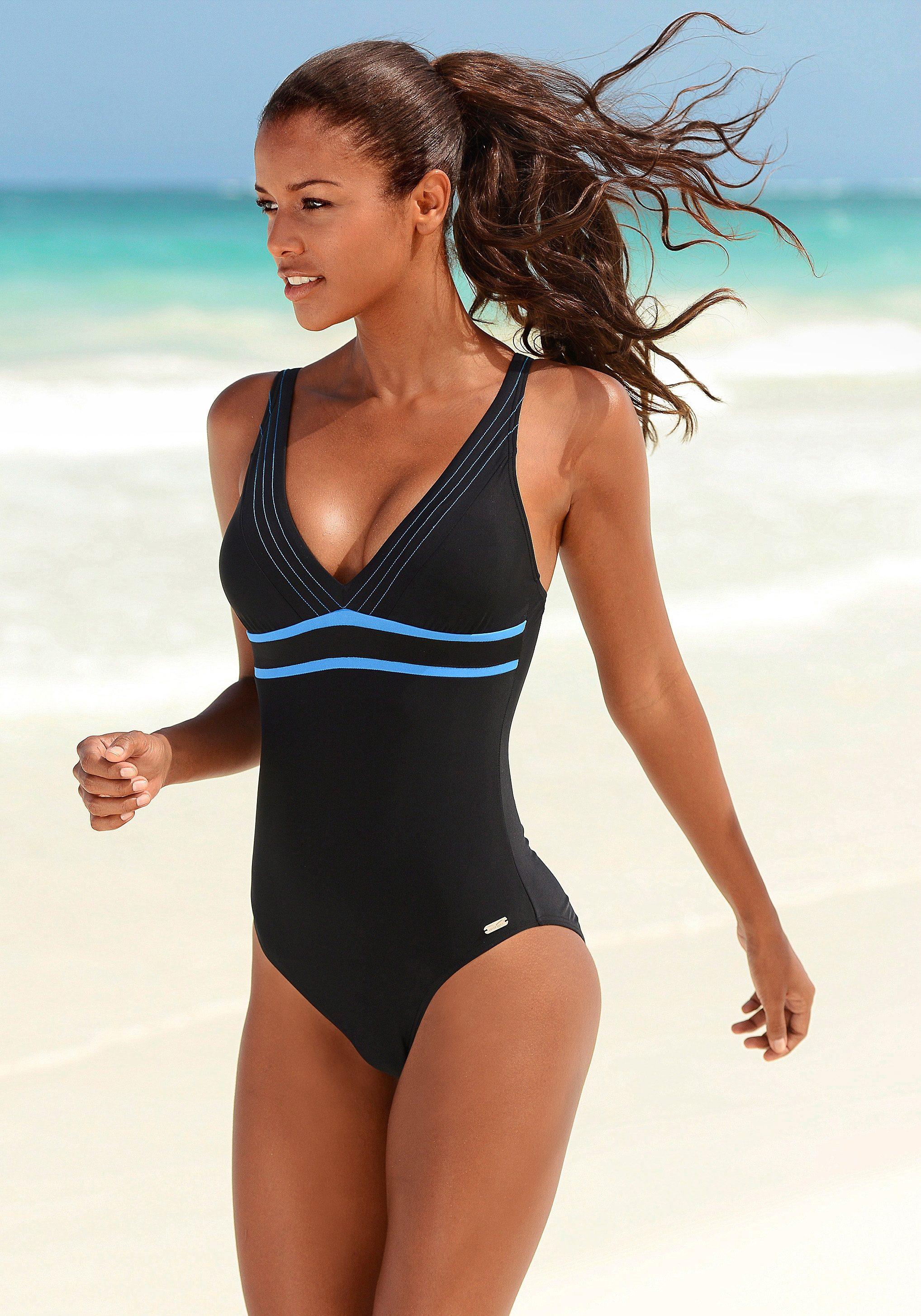 Venice Beach Badeanzug im sportlichen Design