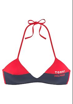 TOMMY HILFIGER Triangel-Bikini-Top »Block«