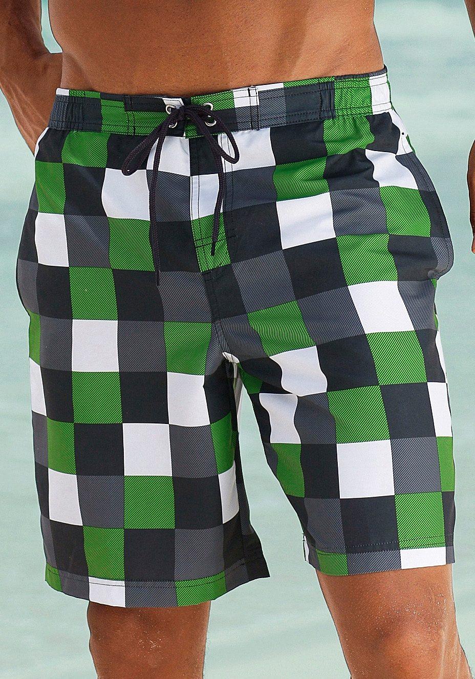 grün-schwarz-kariert
