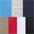 rot + blau + marine + khaki + grau-meliert + weiß + schwarz