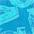 blau bedruckt