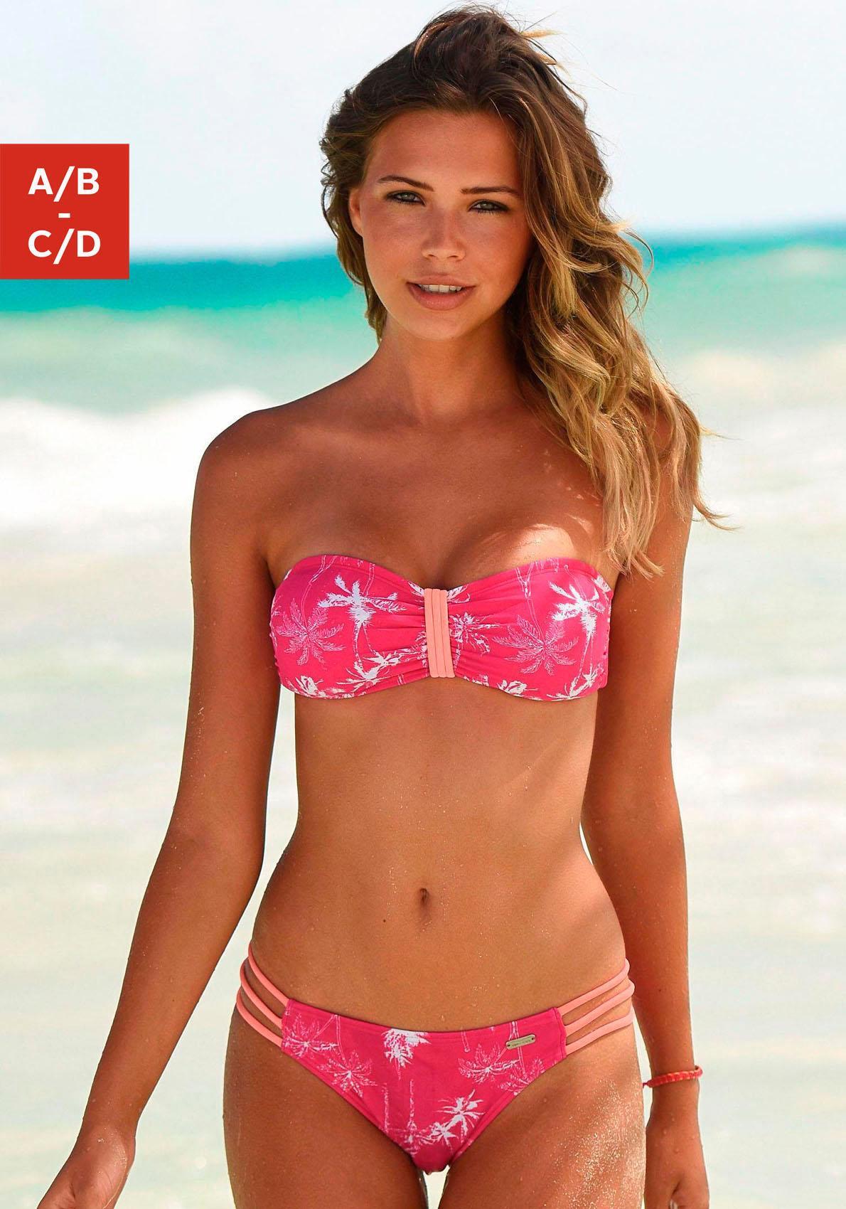 Venice Beach Bandeau-Bikini-Top »Tulum«