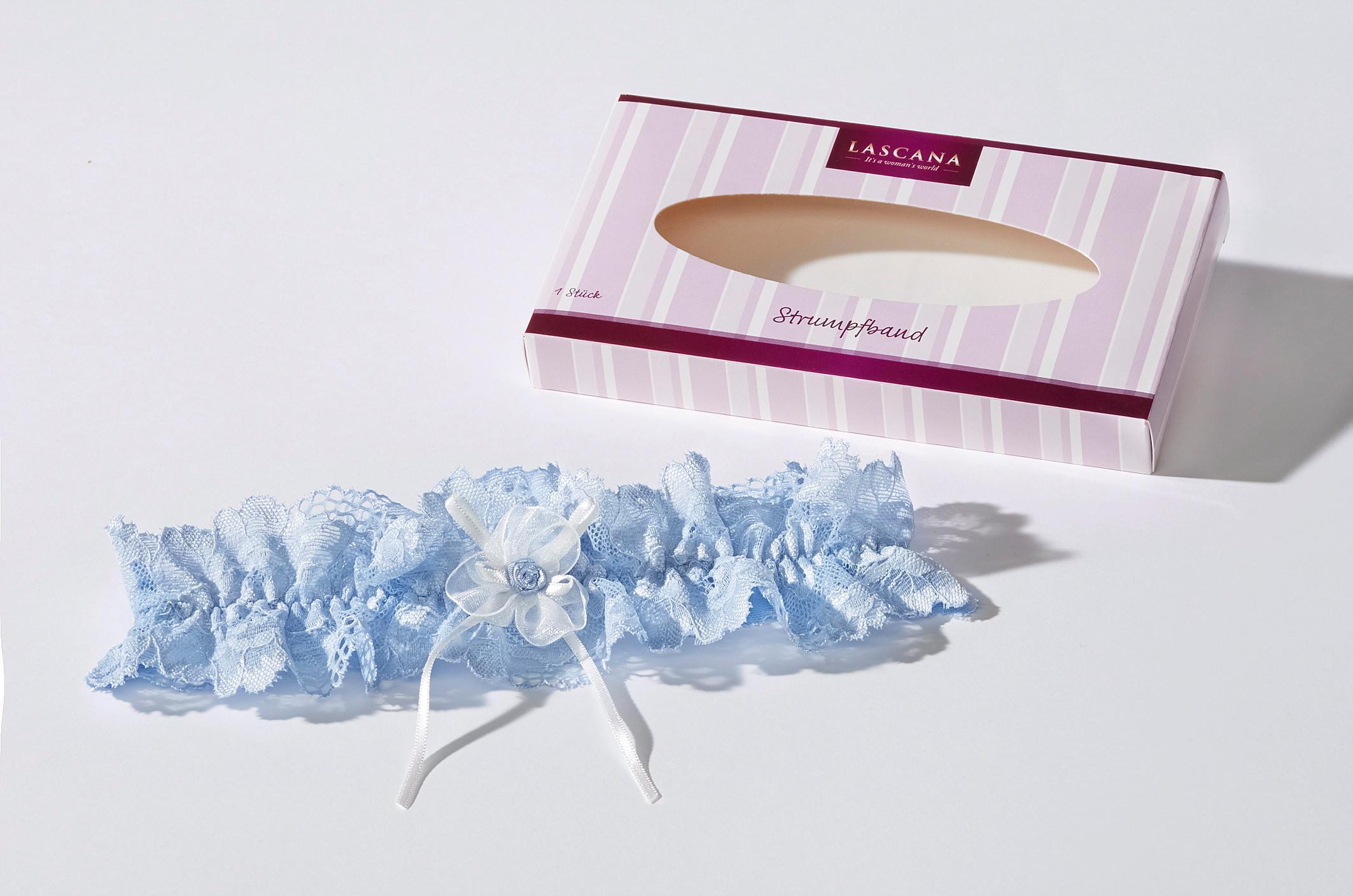 LASCANA Strumpfband in edler Spitze, das perfekte Accessoire für deine Hochzeit
