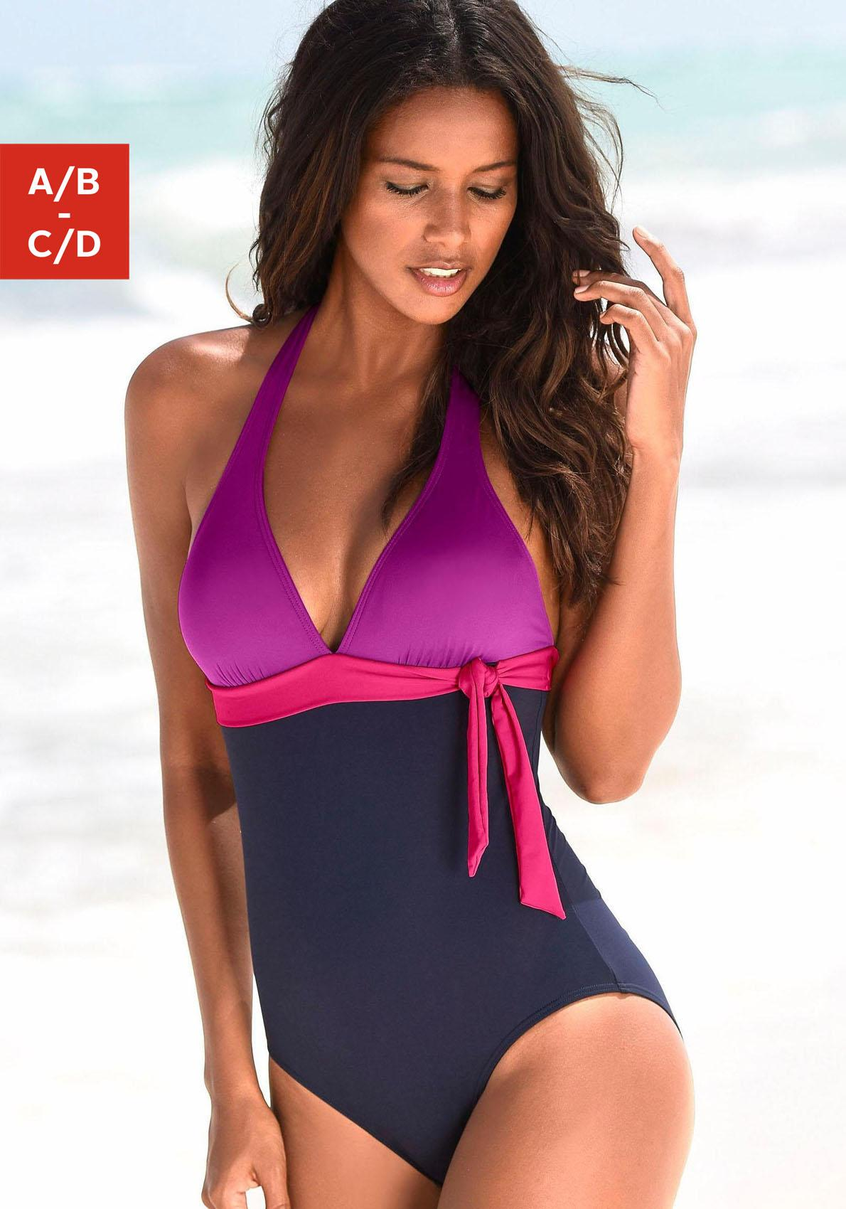 s.Oliver RED LABEL Beachwear Badeanzug
