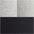 2x schwarz + 2x grau meliert