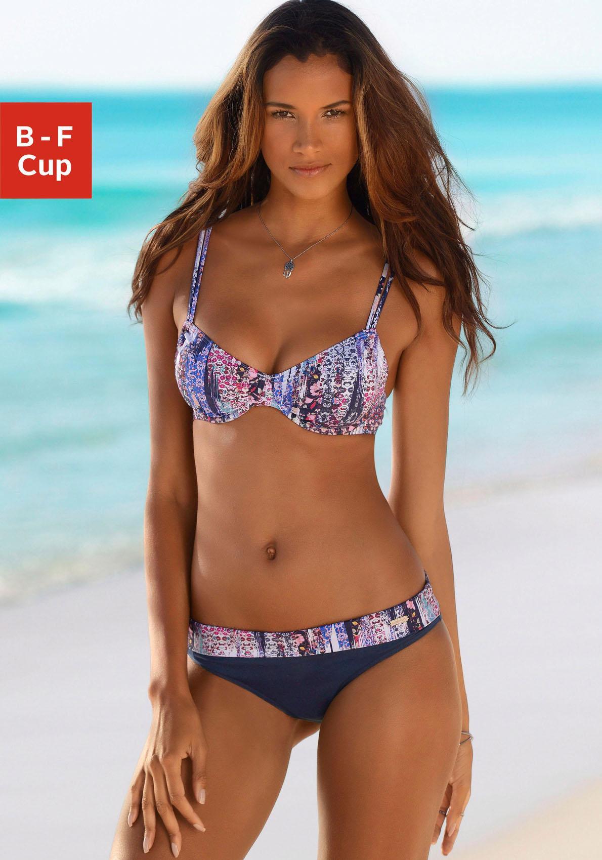 sunseeker Bikini-Hose »Gipsy« mit floralem Print