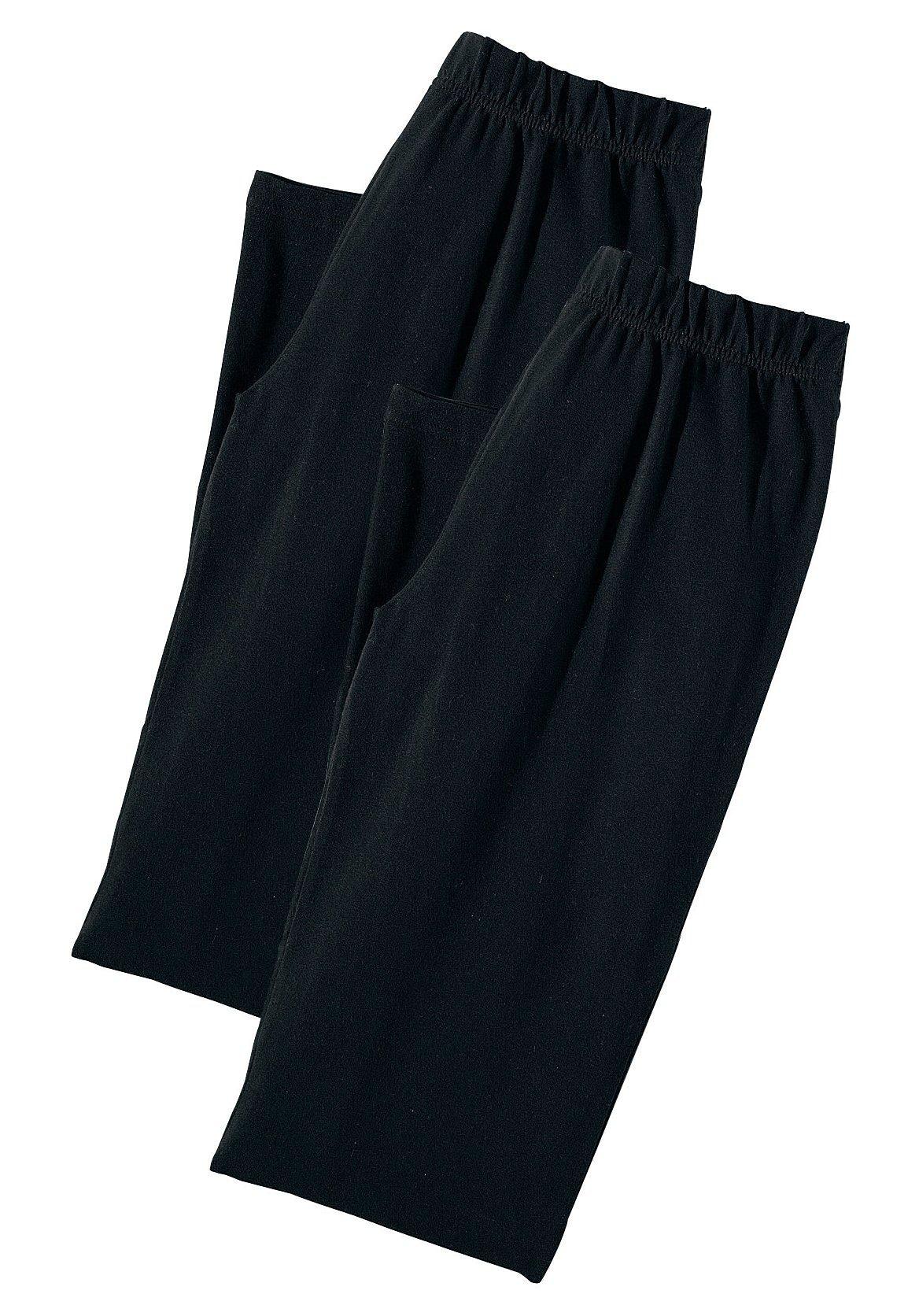Vivance Homewearhosen (2 Stück) aus softer elastischer Qualität