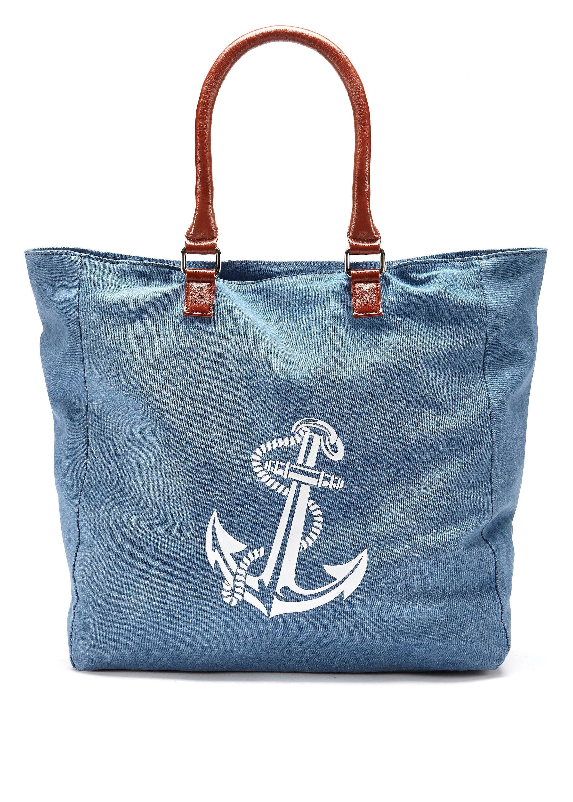 LASCANA Strandtasche mit Anker