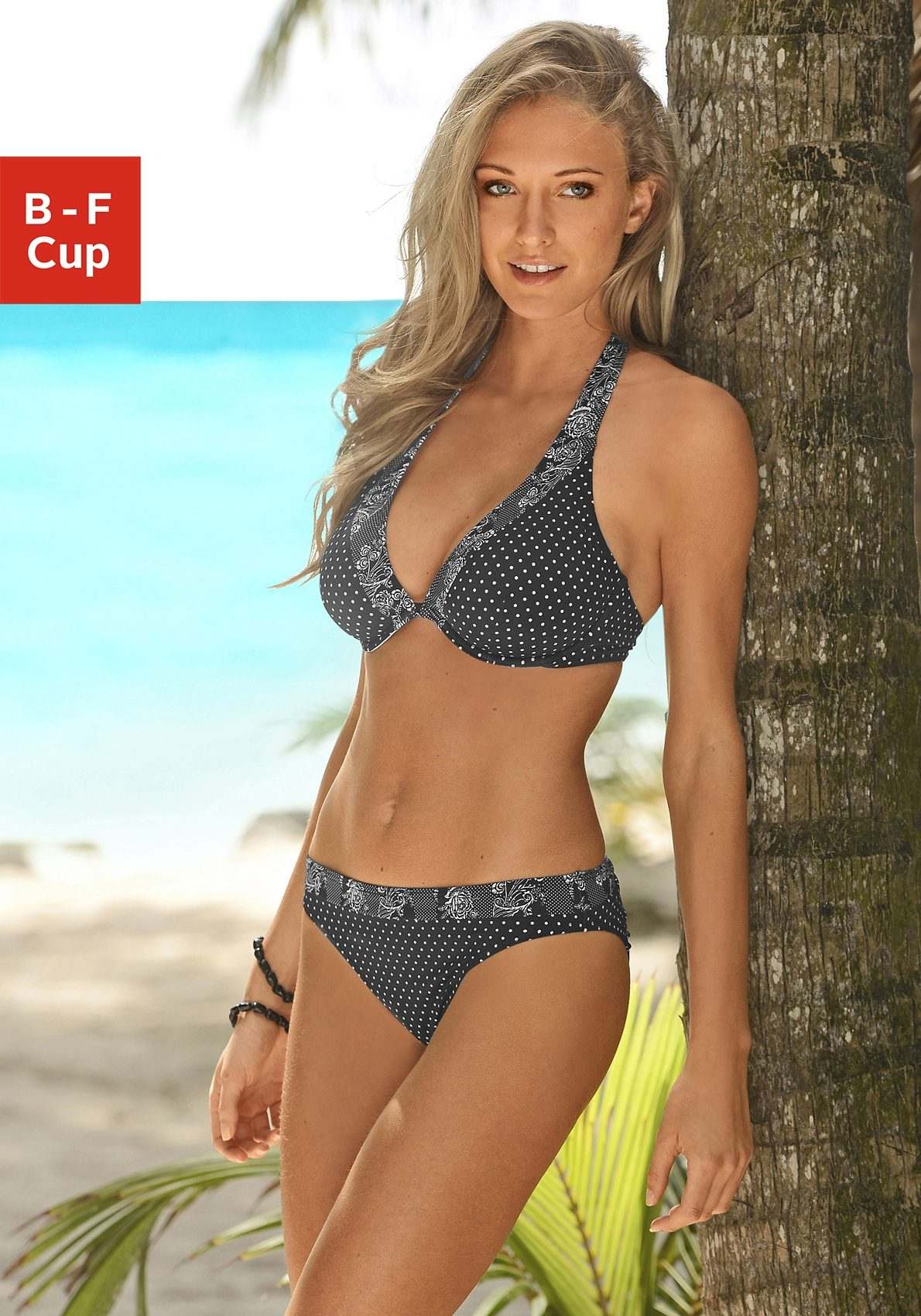 s.Oliver RED LABEL Beachwear Bügel-Bikini mit Mustermix