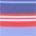 blau-rot gestreift