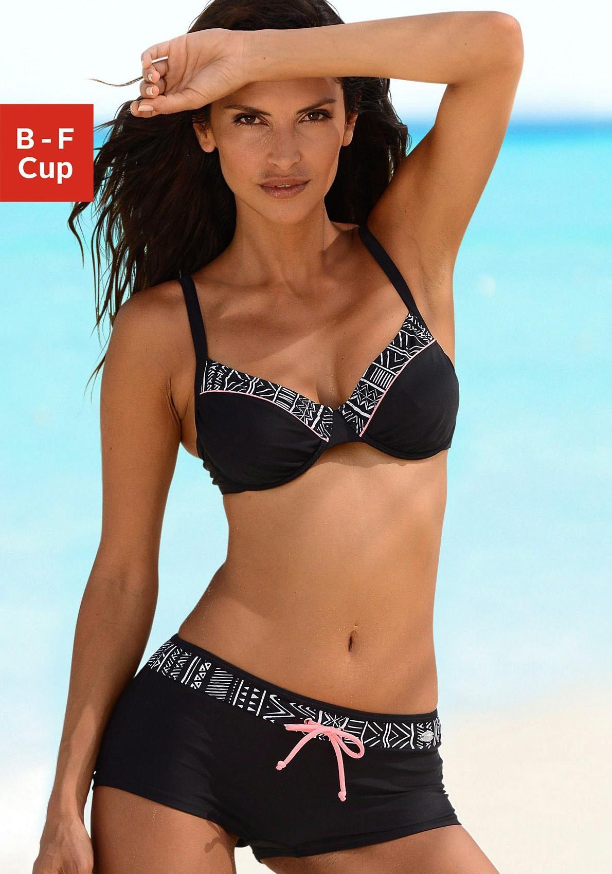 KangaROOS Bügel-Bikini mit Hotpants