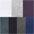 weiß +grau-meliert +blau +blau-grün +aubergine +schwarz