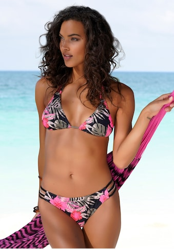LASCANA Bikini-Hose »Elsa«, mit floralem Druck
