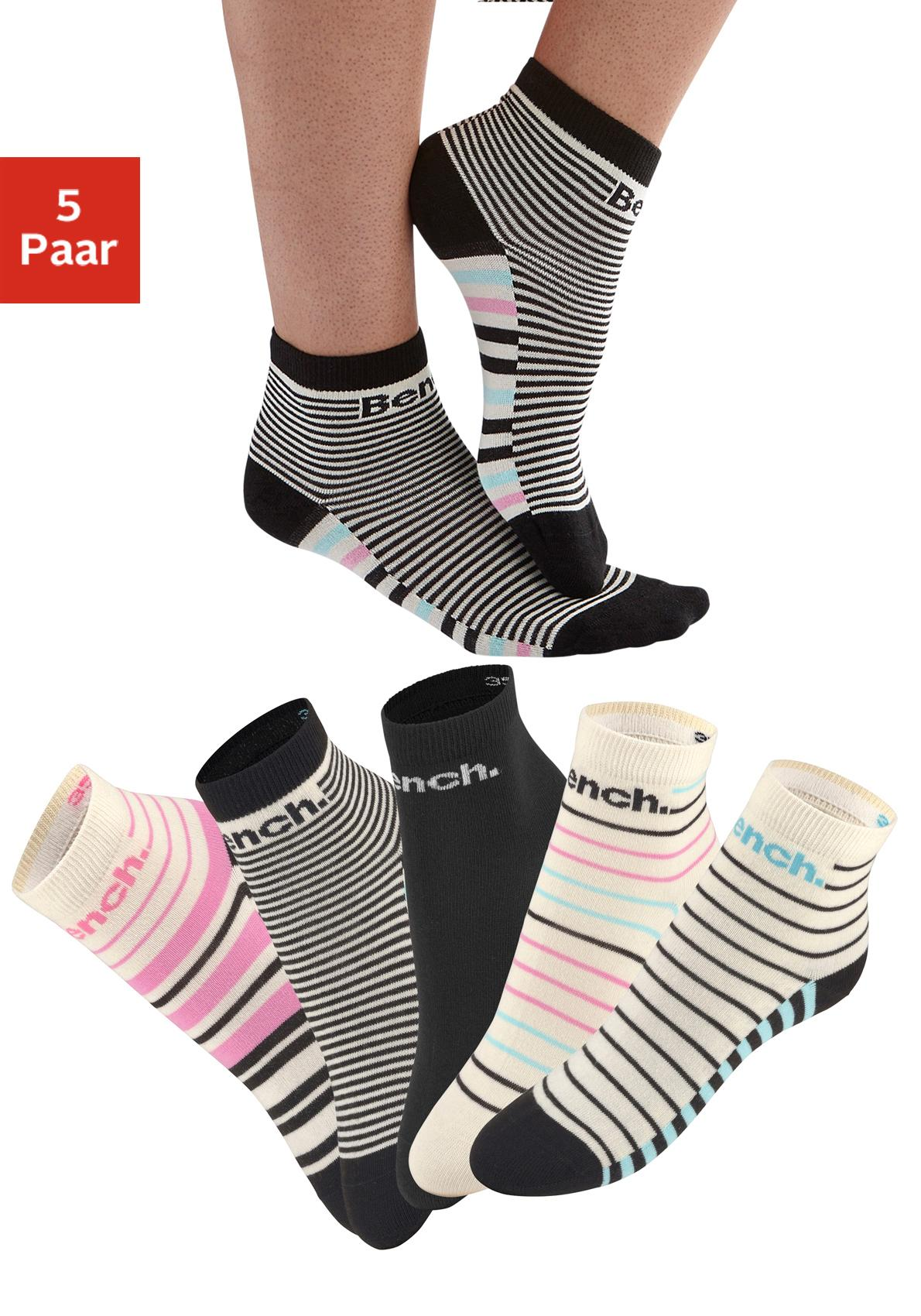 Bench. Kurzsocken (5 Paar)