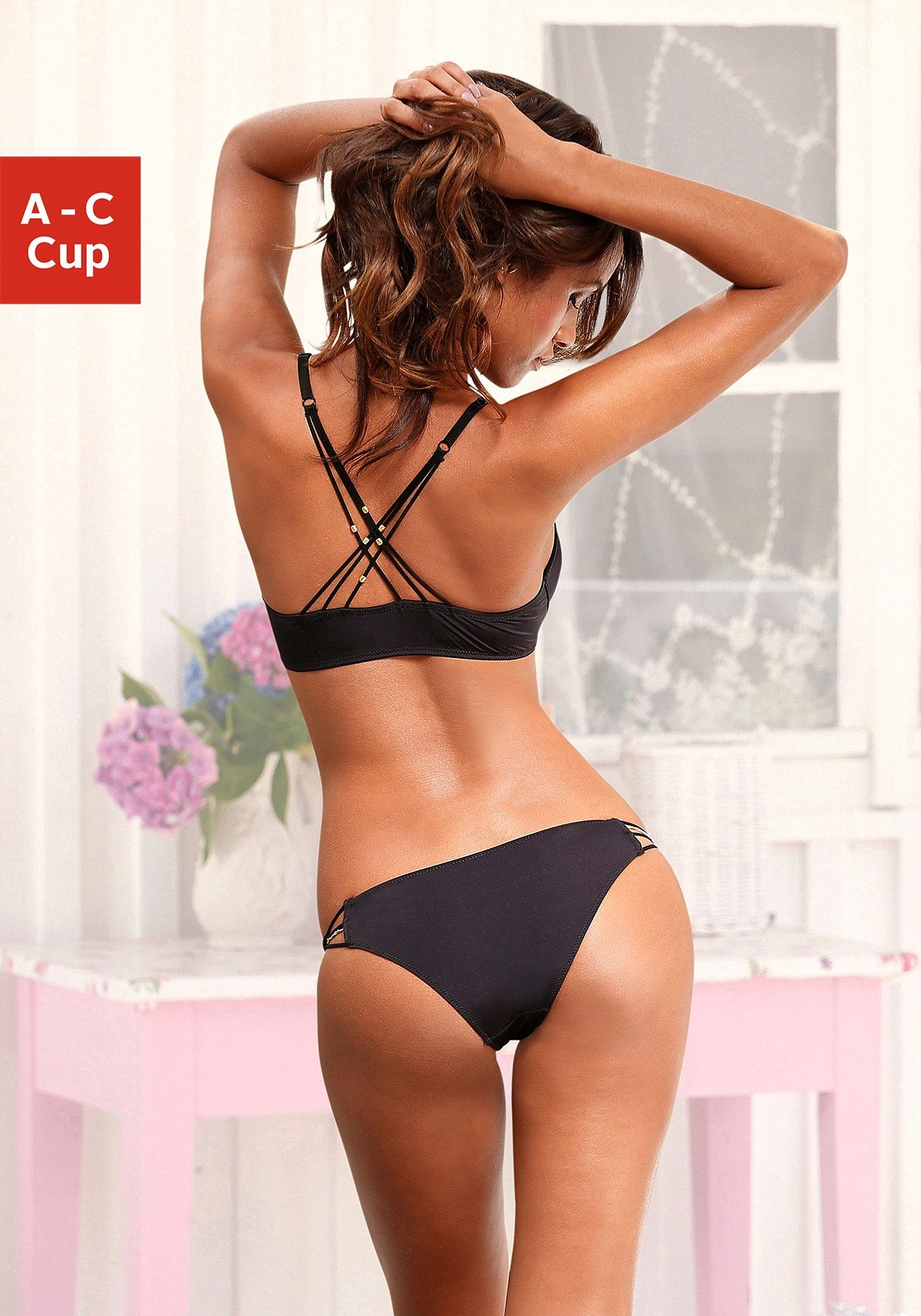 LASCANA Set: Push-up-BH mit Rioslip
