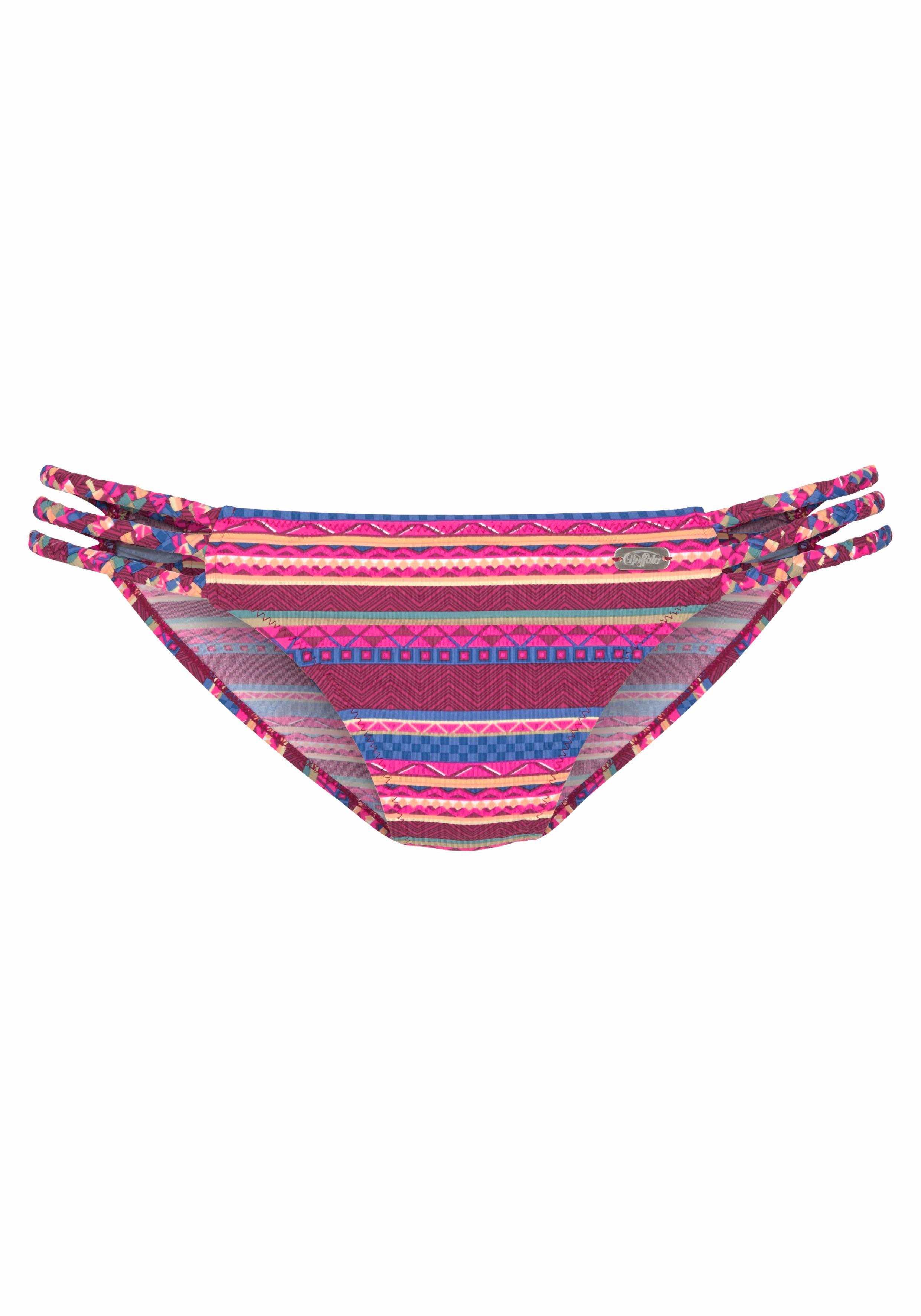 Buffalo Bikini-Hose »Lux« mit geflochtenen Bändern