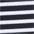 schwarz-weiß gestreift