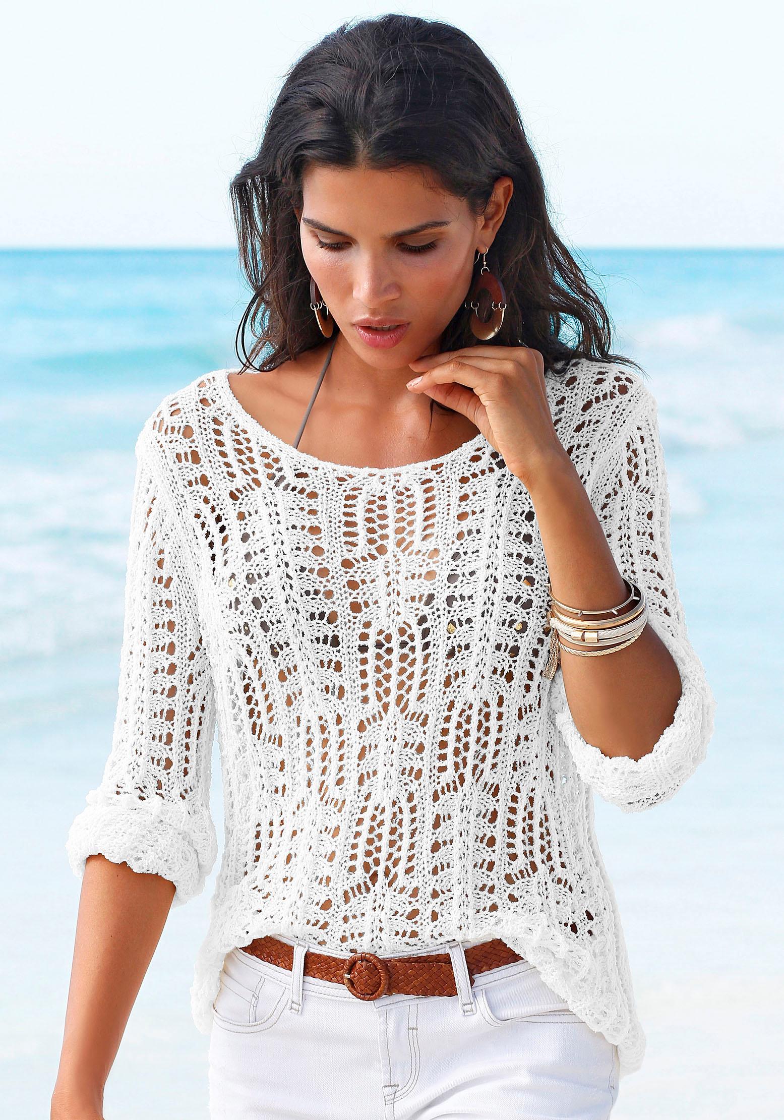 s.Oliver Beachwear Strandpullover