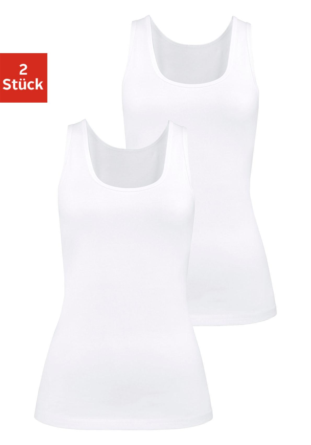H.I.S Tanktops (2 Stück) »Cotton made in Africa«