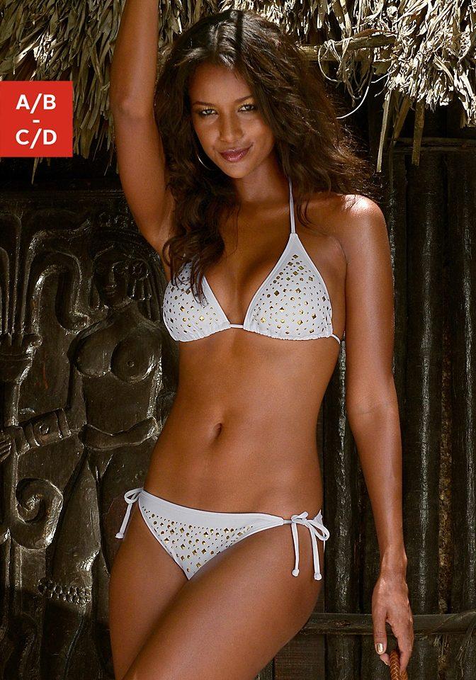 Jette Triangel-Bikini mit Ziernieten