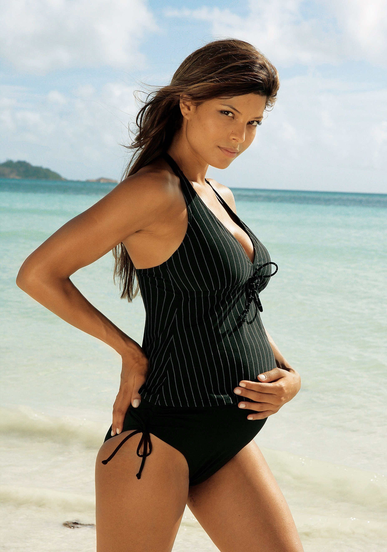 LASCANA Schwangerschafts-Tankini mit Nadelstreifen