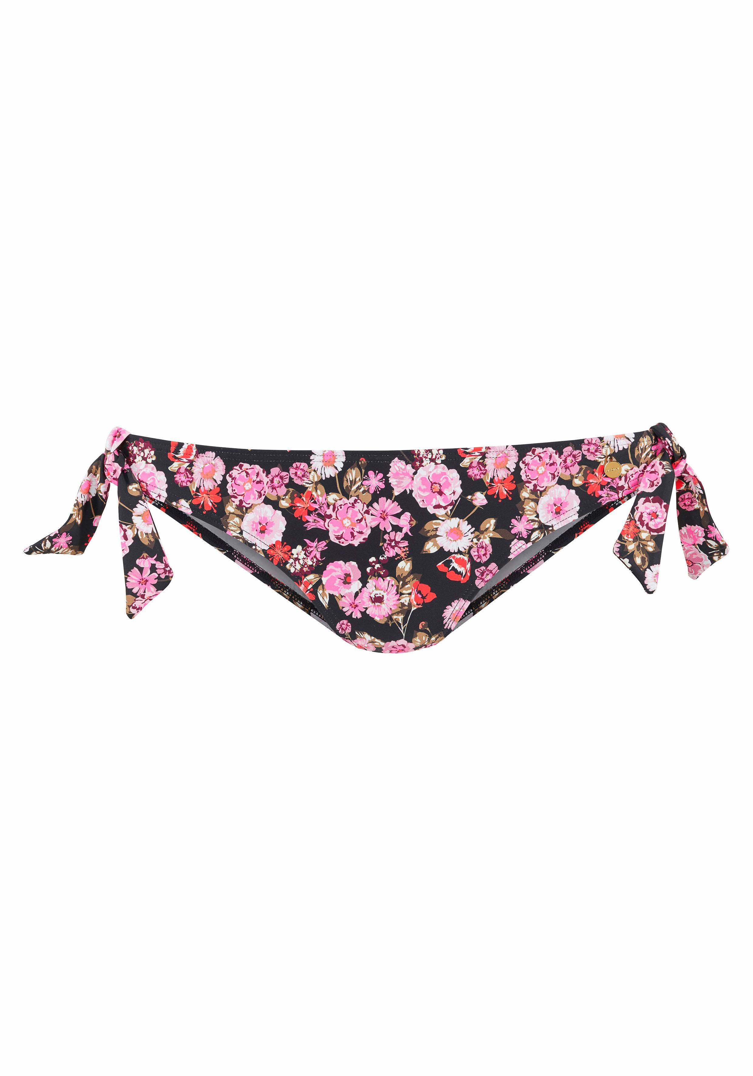 LASCANA Bikini Hose »Blümli« mit Zierschleifen
