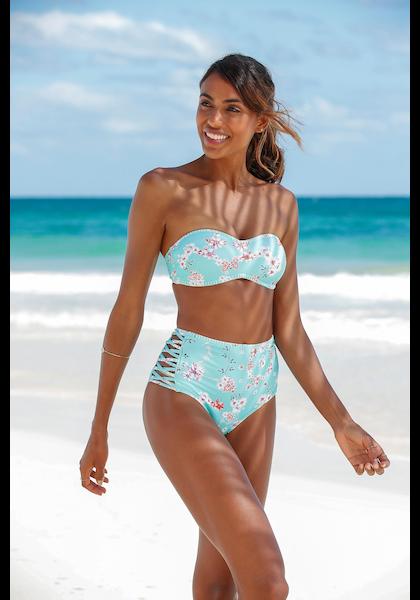 Sunseeker Highwaist-Bikini-Hose »Ditsy«