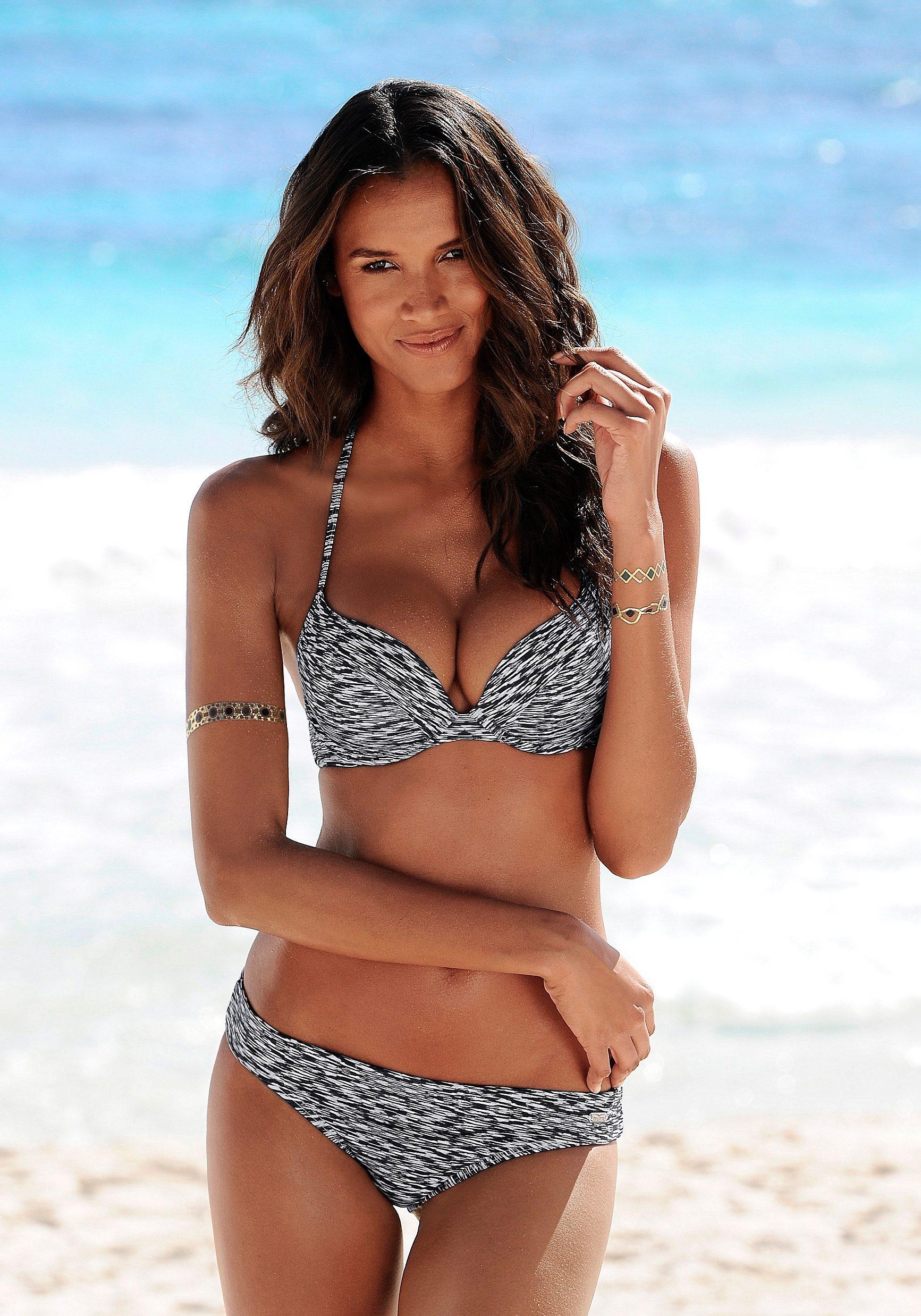 Venice Beach Bikini-Hose »Melange«