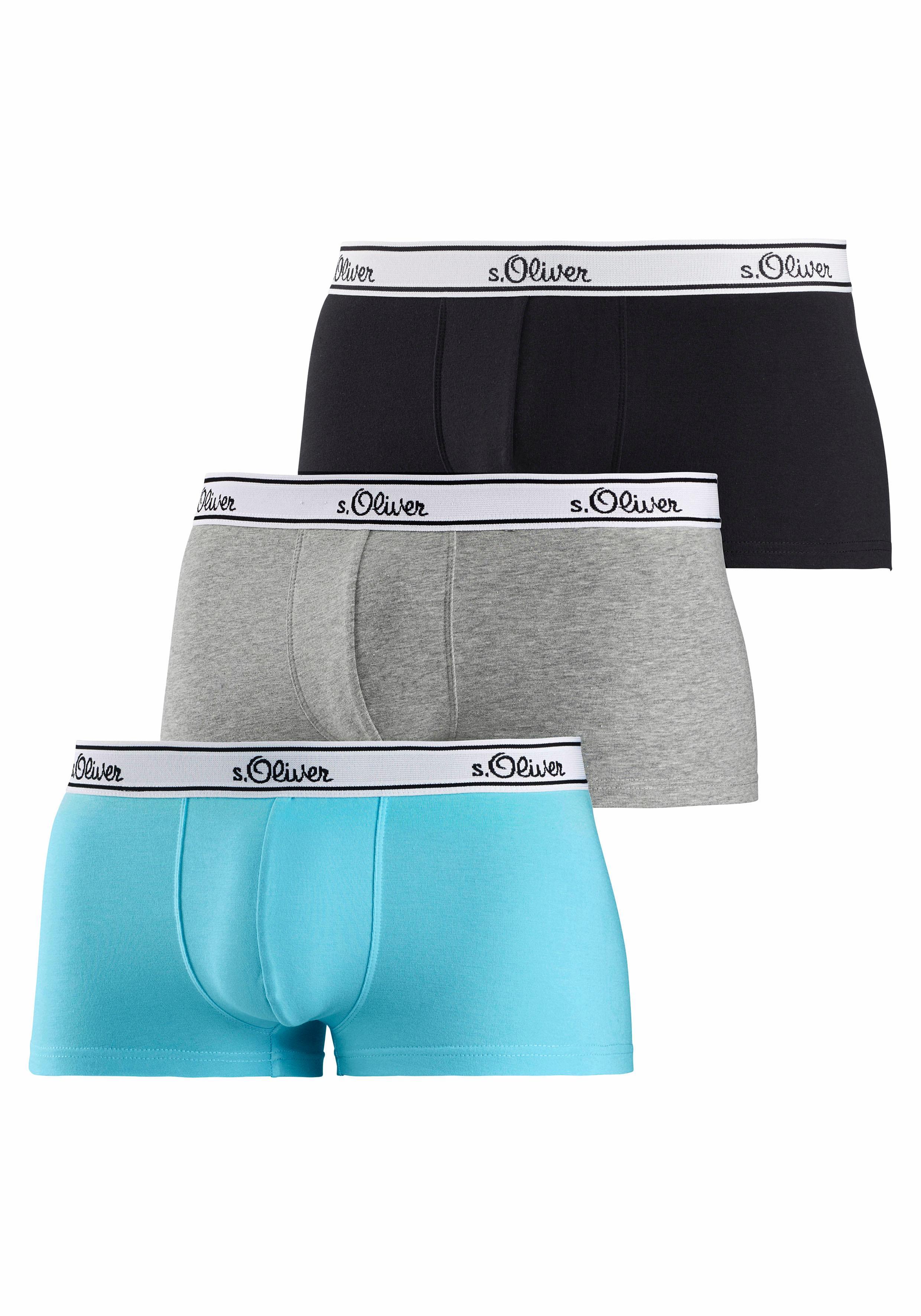 s.Oliver Bodywear Hipster (3 Stück)