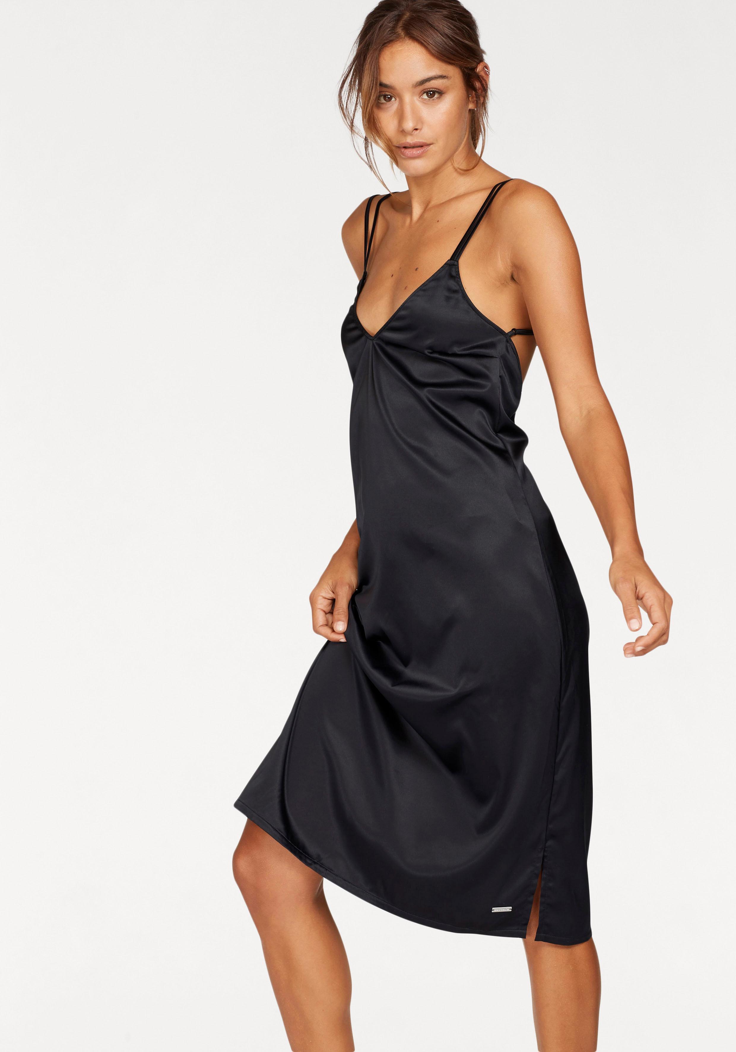 LASCANA Knielanges Slip Dress mit weitem Rückenausschnitt