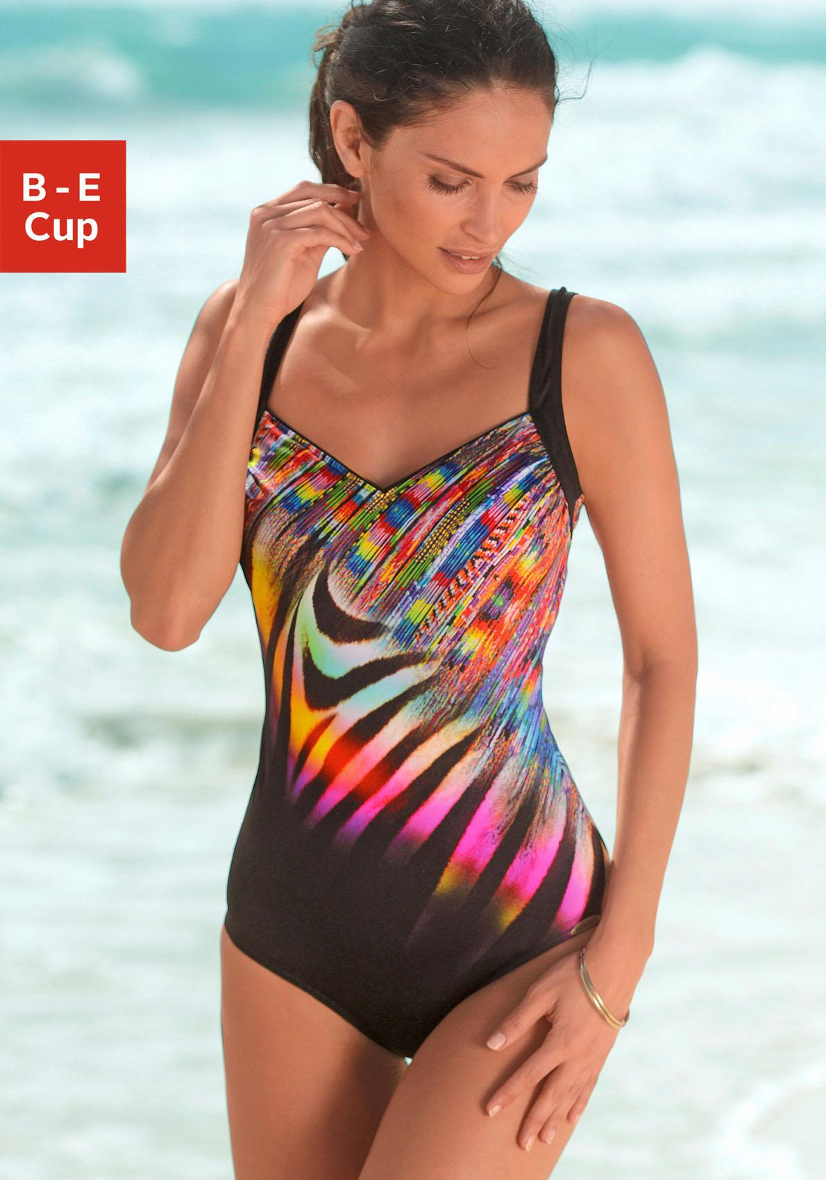 Sunflair Badeanzug im schönem Druckdesign