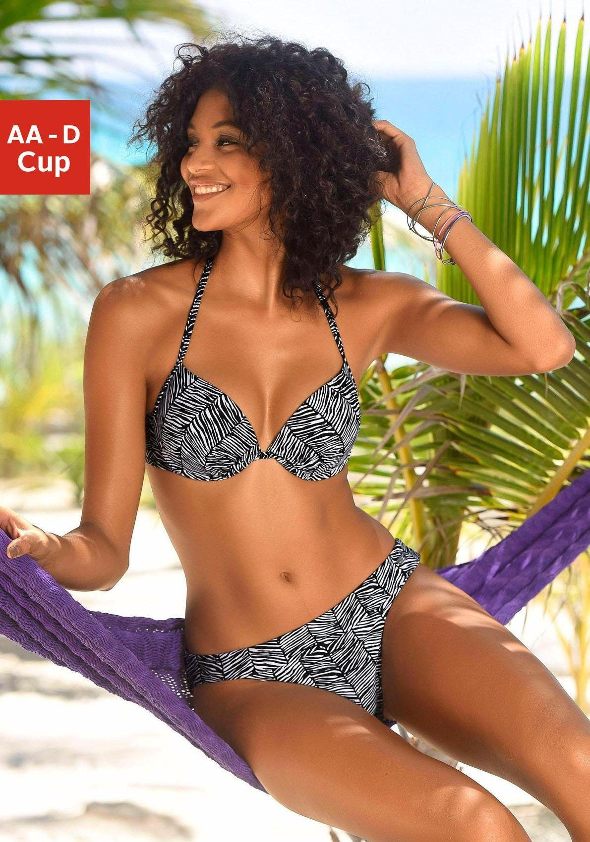 Venice Beach Push-Up-Bikini-Top »Sugar«