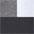 schwarz + weiß + grau-meliert