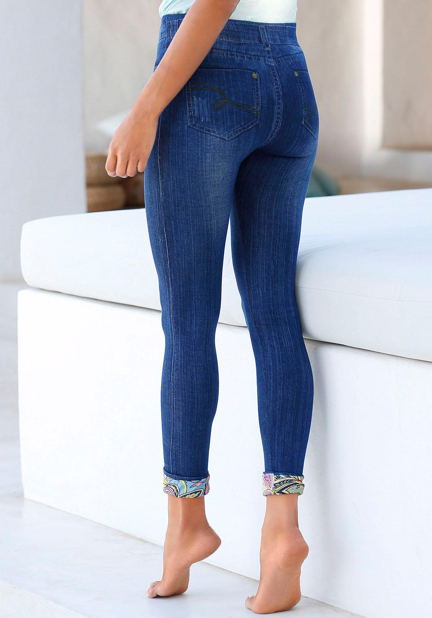 Buffalo Leggings in Denim-Look