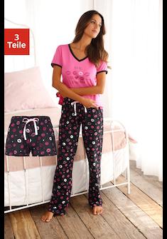 Vivance Dreams Pyjama (3-tlg.)