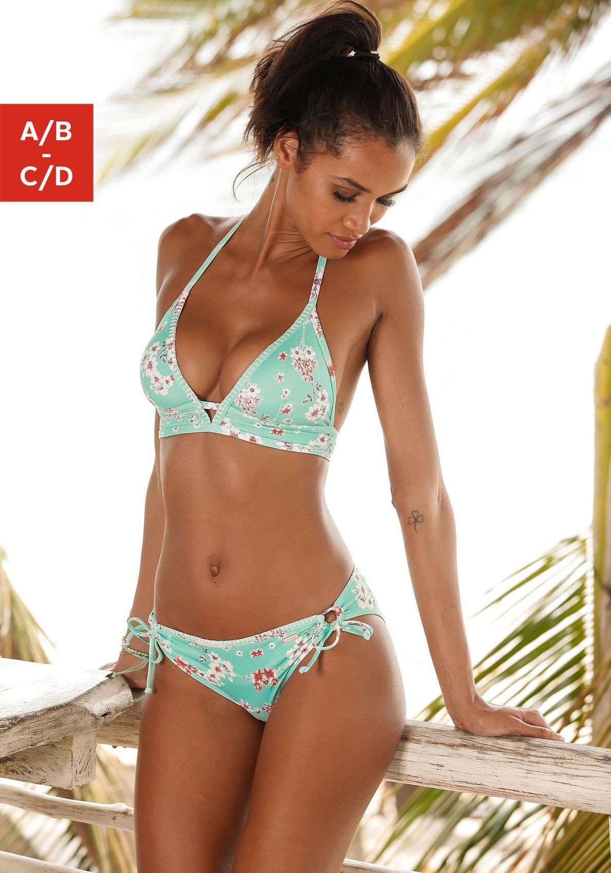 Sunseeker Triangel-Bikini-Top »Ditsy«