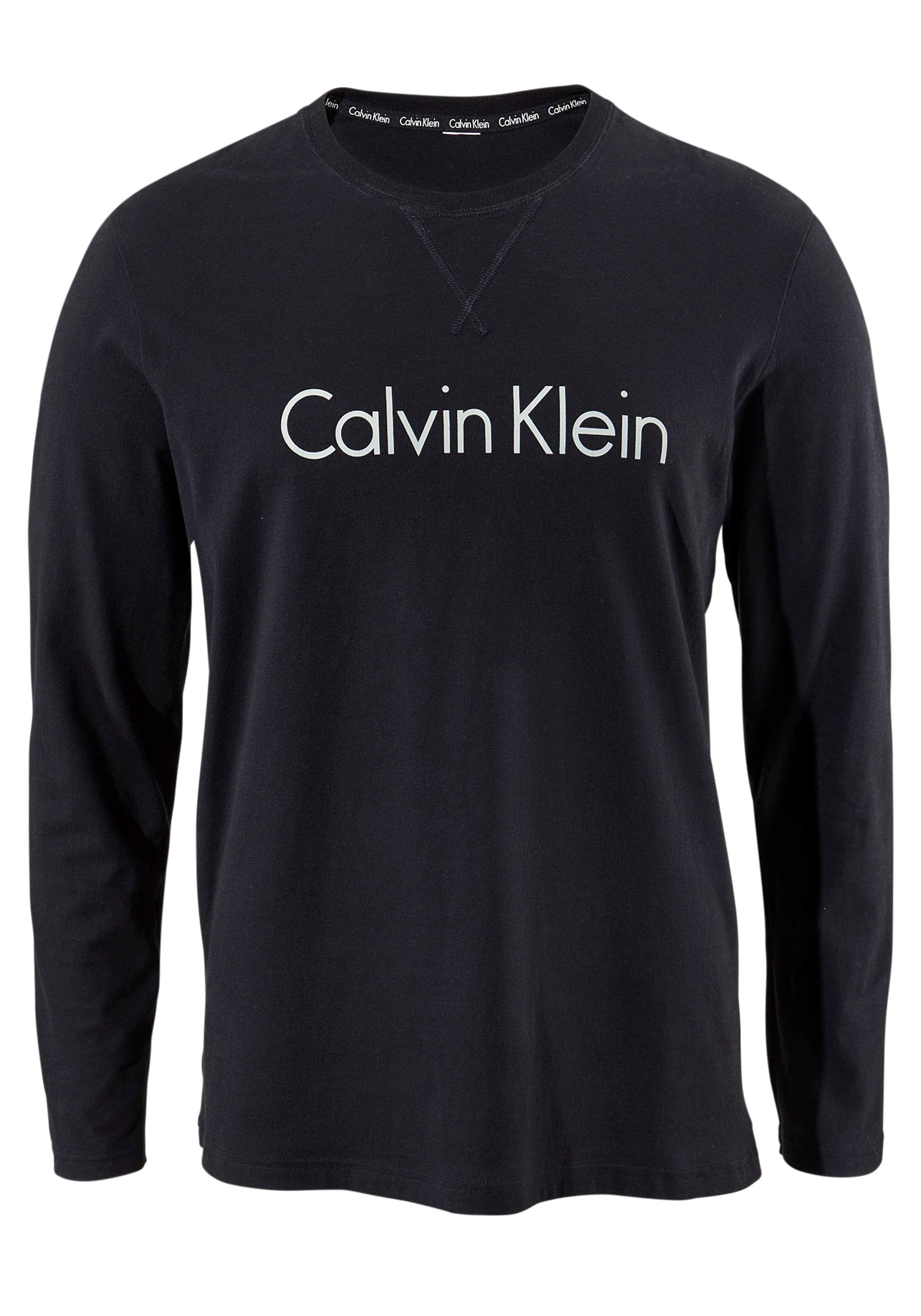 Calvin Klein Langarmshirt mit Logo Druck