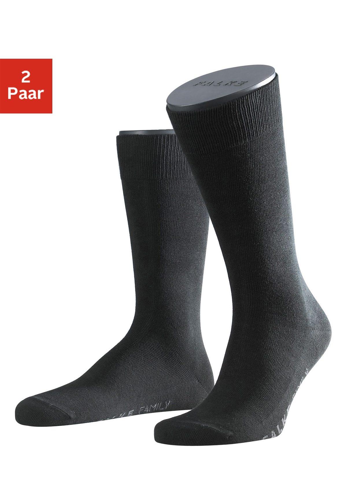 Falke Socken »Family« (2 Paar) mit extrahohem Baumwollanteil