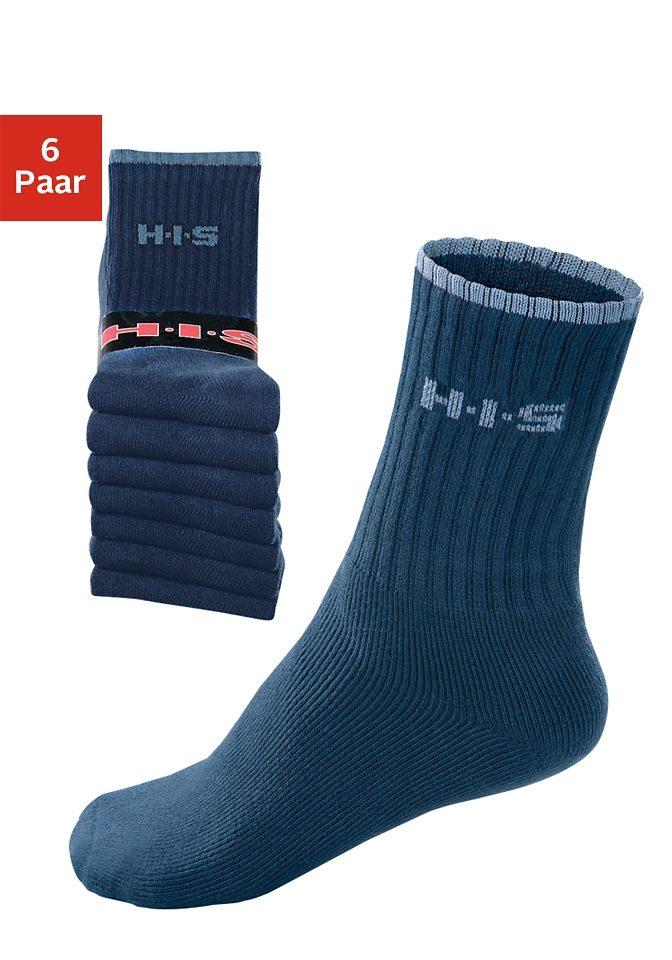 H.I.S Sportsocken (6 Paar)