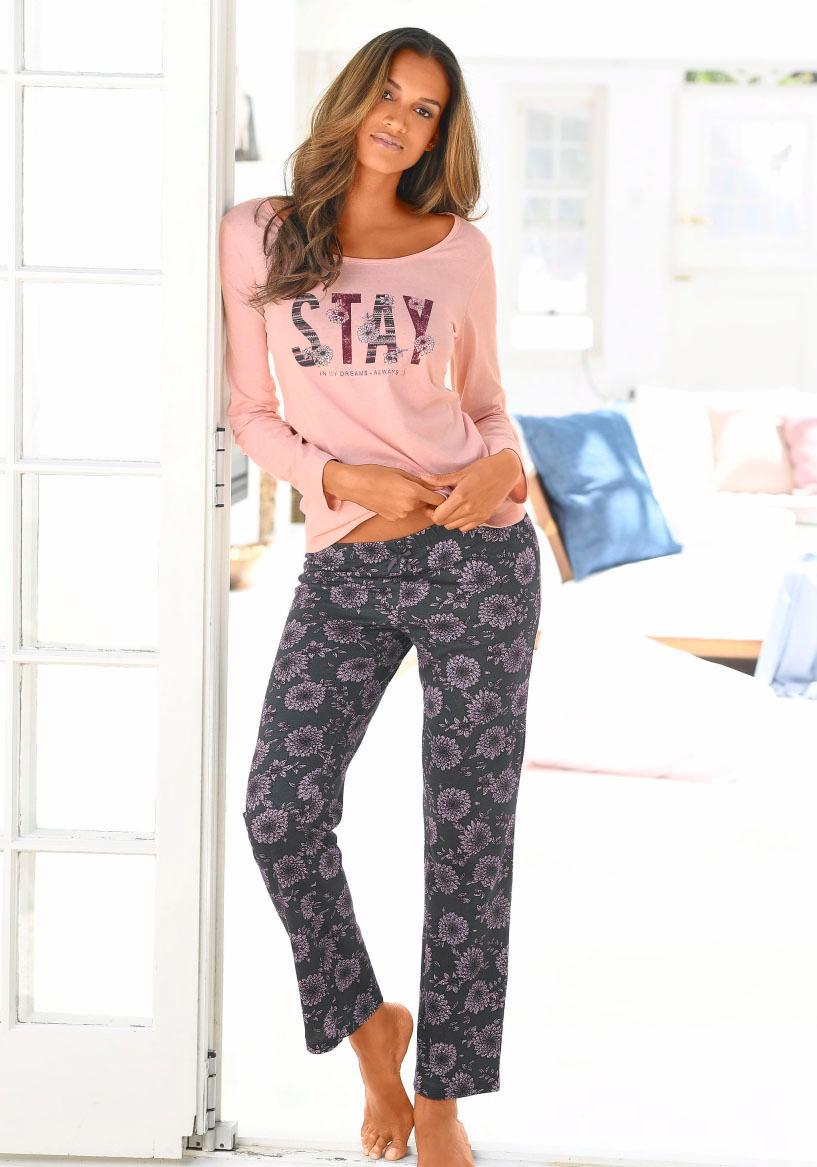 s.Oliver RED LABEL Bodywear Pyjama in L-Größen