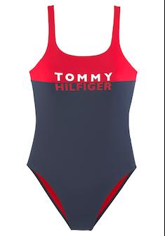 TOMMY HILFIGER Badeanzug »Block«