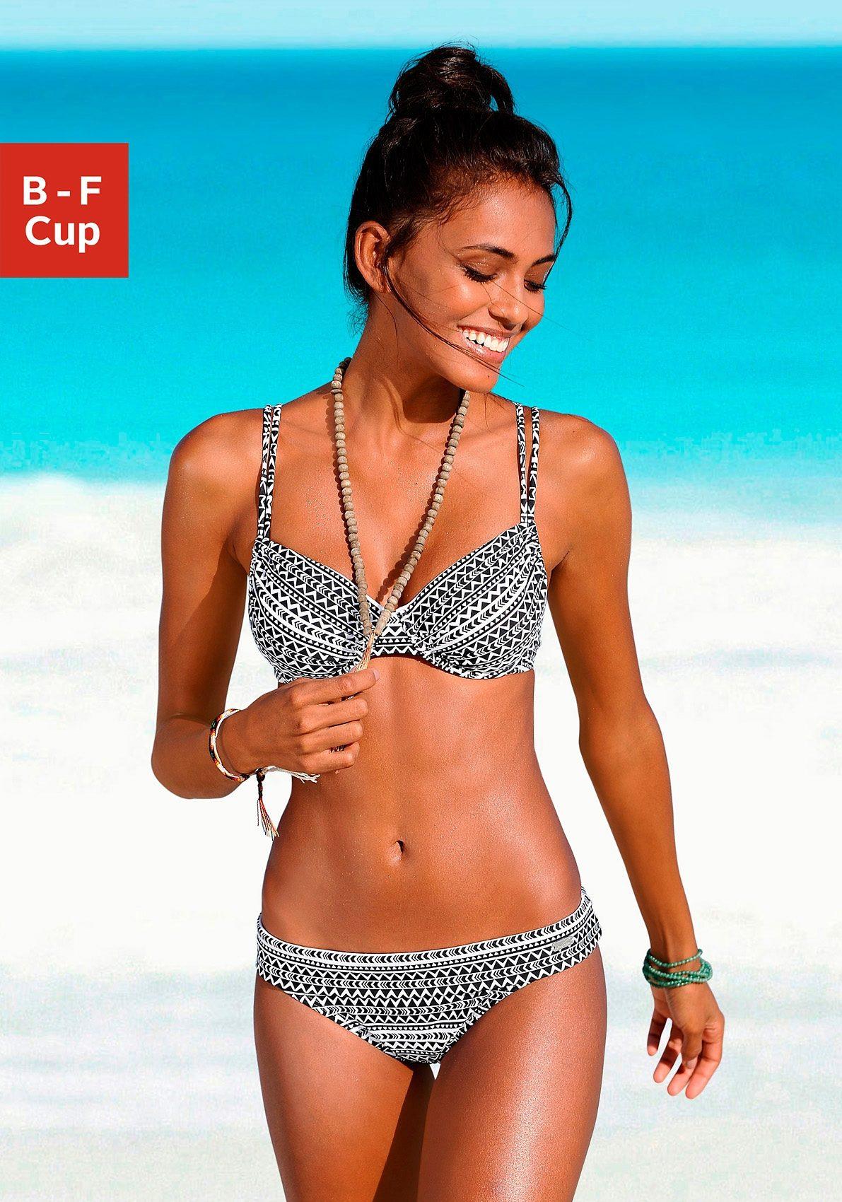 Venice Beach Bügel-Bikini-Top »Ethno«