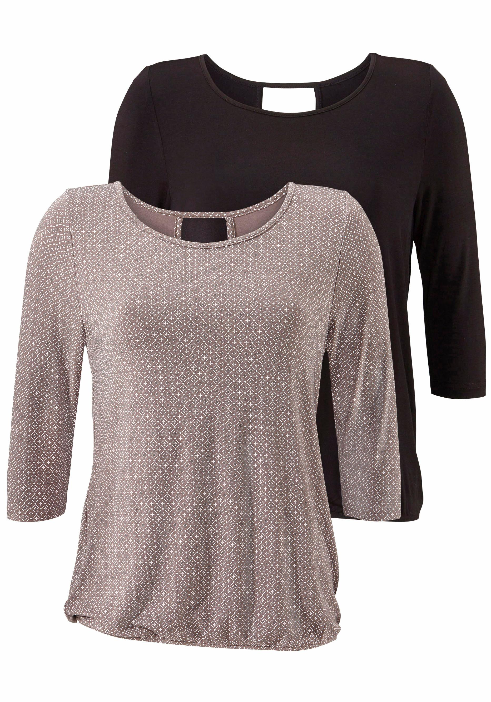 LASCANA 3/4-Arm-Shirt